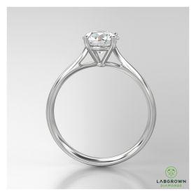 0.25 Carat Diamond Ring with Jewelry Gift Box