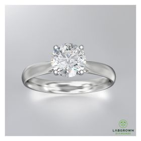 1 Carat  Diamond Ring with Jewelry Gift Box